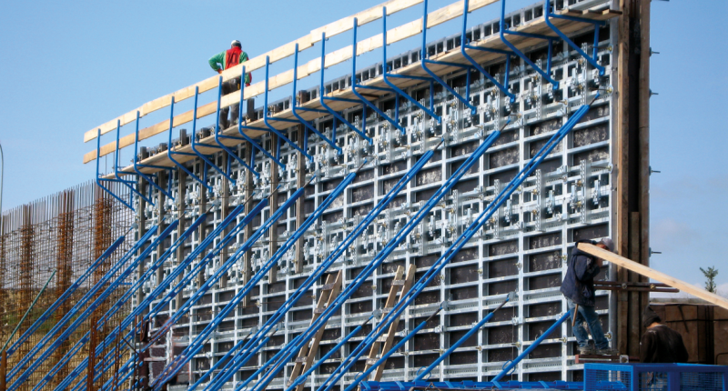 VINC'I 80 Wall Formwork - TMS Formwork and Scaffolding Systems