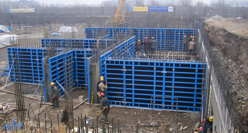 Wall Formwork Tms Formwork And Scaffolding Systems