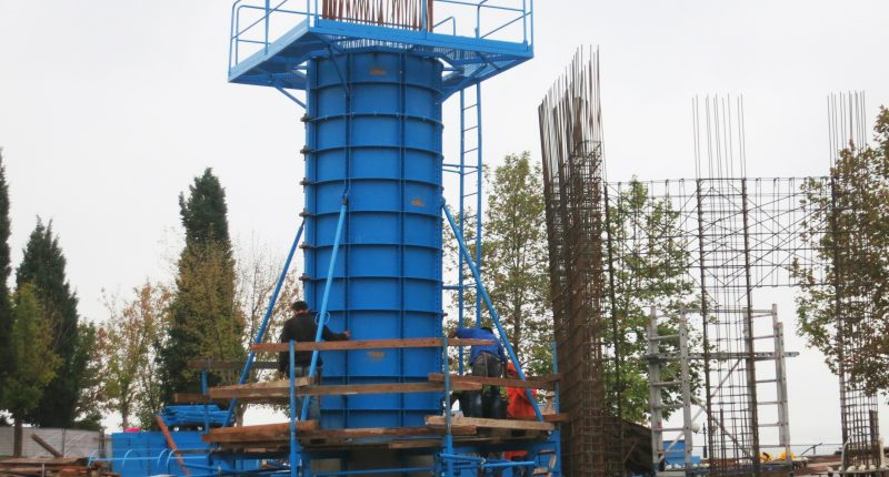 CIREX Column Formwork - TMS Formwork and Scaffolding Systems