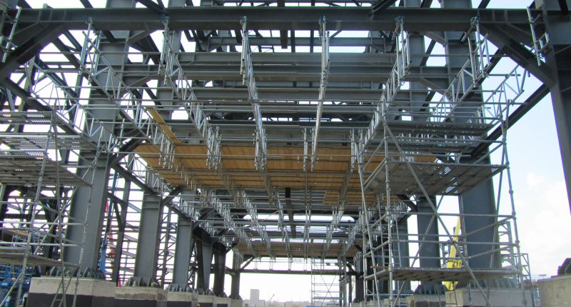 Pipe Rack Scaffolding Tms Formwork And Scaffolding Systems