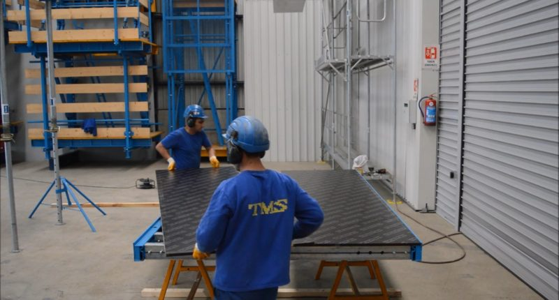 MOPA Wall Formwork - TMS Formwork and Scaffolding Systems